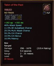 Talon of the Past