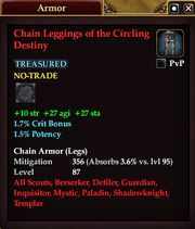 Chain Leggings of the Circling Destiny