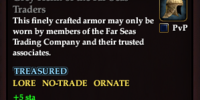 Grey Helm of the Far Seas Traders