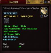 Wind Scoured Warrior's Circlet