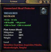 Gnomeland Head Protector