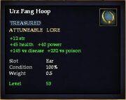 Urz Fang Hoop