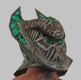 Vesspyr Warrior's Elaborate Bronze Barbute (Equipped)