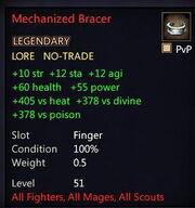 Mechanized Bracer
