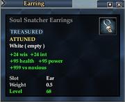Soul Snatcher Earrings