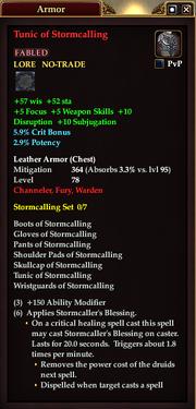 Tunic of Stormcalling