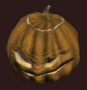 Dedicated Jack-o-Lantern (Equipped)