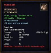 Mammoth (Weapon)