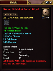 Round Shield of Boiled Blood
