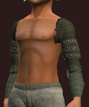 Grey Shoulderpads of the Far Seas Traders (Equipped)