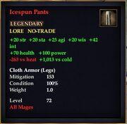 Icespun Pants