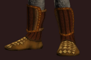 Elysian Boots of the Gambler (Equipped)