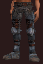 Fyst's Steel Greaves (Equipped)