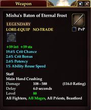 Misha's Baton of Eternal Frost