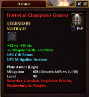 Frostwind Champion's Greaves