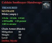 Coldain Soothsayer Handwraps