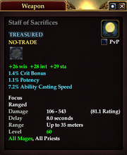 Staff of Sacrifices