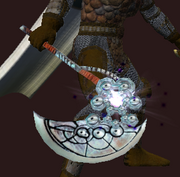Void-saturated Bone Axe (Equipped)
