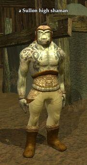 A Sullon high shaman