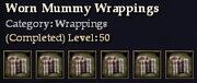CQ wrappings wornmummy Journal