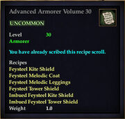 Advanced Armorer Volume 30