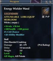 Energy Wielder Wand