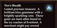 Vox's Breath
