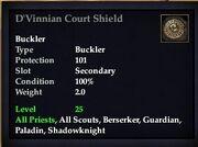 D'Vinnian Court Shield