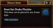Frost Fae Drake Plushie