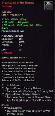 Breastplate of the Eternal Sentinel