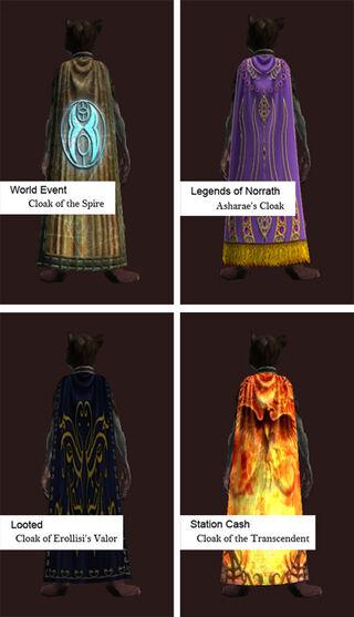 Cloak Examples