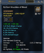 Ry'Gorr Knuckles of Blood