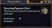 Towering Papasan Chair