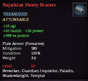 Rujarkian Heavy Bracers