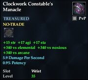 Clockwork Constable's Manacle