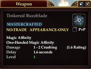 Tinkered Buzzblade