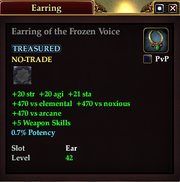 Earring of the Frozen Voice