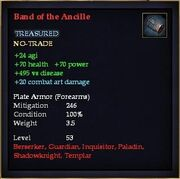 Band of the Ancille