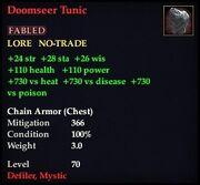 Doomseer Tunic