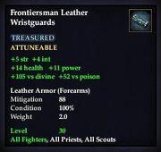Frontiersman Leather Wristguards