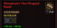 Hierophant's Vine Wrapped Bands