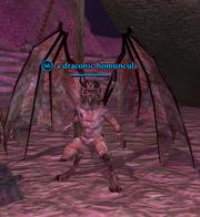 A draconic homunculi