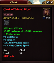 Cloak of Tainted Blood