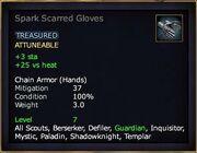Spark Scarred Gloves