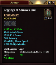 Leggings of Sorrow's End