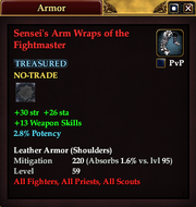 Sensei's Arm Wraps of the Fightmaster