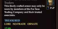 Forest Vest of the Far Seas Traders