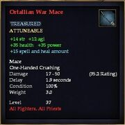 Ortallian War Mace