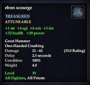 Ebon scourge