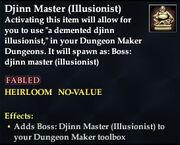 Djinn Master (Illusionist)